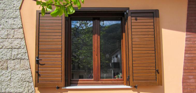 L 39 infisso porte e finestre legno lamellare e alluminio - Ristrutturare porte e finestre ...
